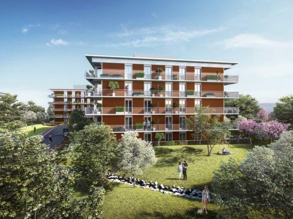 "Residential complex ""Riviéra Modřany"""